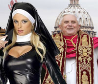 The Catholic Church will soon replace Alter Boys with attractive girls.