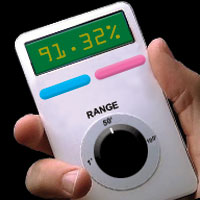 The new Bangulator will help people find love by displaying the chances of a connection on a small LCD screen.
